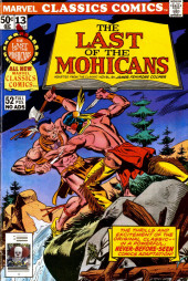 Marvel Classics Comics (Marvel - 1976) -13- The Last of the Mohicans
