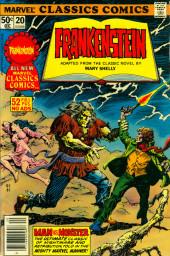 Marvel Classics Comics (Marvel - 1976) -20- Frankenstein