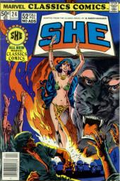 Marvel Classics Comics (Marvel - 1976) -24- She