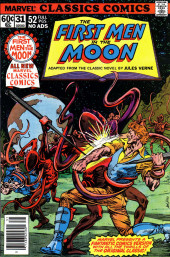 Marvel Classics Comics (Marvel - 1976) -31- The First Men In The Moon