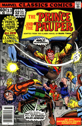 Marvel Classics Comics (Marvel - 1976) -33- The Prince and the Pauper