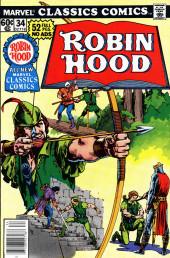 Marvel Classics Comics (Marvel - 1976) -34- Robin Hood