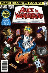 Marvel Classics Comics (Marvel - 1976) -35- Alice in Wonderland