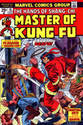 Master of Kung Fu Vol. 1 (Marvel - 1974) -18- Martial Arts Action from Mighty Marvel
