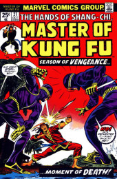 Master of Kung Fu Vol. 1 (Marvel - 1974) -21- Season of Vengeance... ...Moment of Death!