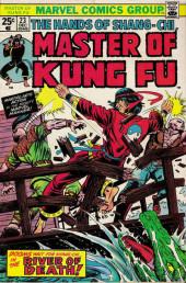 Master of Kung Fu Vol. 1 (Marvel - 1974) -23- River of Death!