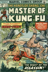 Master of Kung Fu Vol. 1 (Marvel - 1974) -24- The Night of the Assassin!
