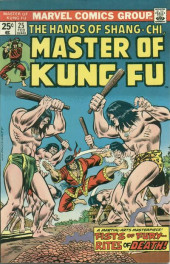 Master of Kung Fu Vol. 1 (Marvel - 1974) -25- Fists of Fury -- Rites of Death!