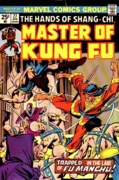 Master of Kung Fu Vol. 1 (Marvel - 1974) -27- Trapped... in the Lair of Fu Manchu!