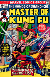 Master of Kung Fu Vol. 1 (Marvel - 1974) -29- The Rampage of Razor-Fist!