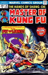 Master of Kung Fu Vol. 1 (Marvel - 1974) -30- Pit of Lions!