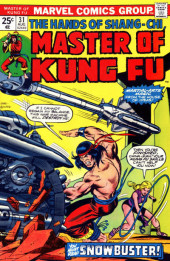 Master of Kung Fu Vol. 1 (Marvel - 1974) -31- Snowbuster!