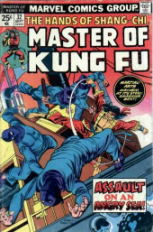 Master of Kung Fu Vol. 1 (Marvel - 1974) -32- Assault on an Angry Sea!