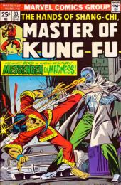 Master of Kung Fu Vol. 1 (Marvel - 1974) -33- Messenger of Madness!