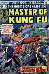 Master of Kung Fu Vol. 1 (Marvel - 1974) -34- Captive in a Madman's Crown!