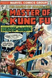 Master of Kung Fu Vol. 1 (Marvel - 1974) -35- Death-Hand!