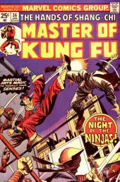 Master of Kung Fu Vol. 1 (Marvel - 1974) -36- The Night of the Ninjas!