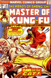 Master of Kung Fu Vol. 1 (Marvel - 1974) -38- Claws of the Cat!
