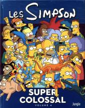 Les simpson - Super colossal -4- Volume 4