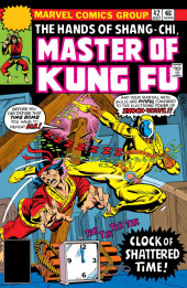 Master of Kung Fu Vol. 1 (Marvel - 1974) -42- Clock of Shattered Time!
