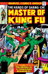 Master of Kung Fu Vol. 1 (Marvel - 1974) -48- The Bridges of a Thousand Dooms!
