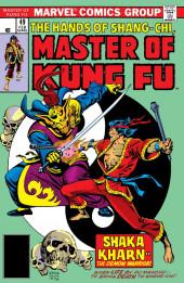 Master of Kung Fu Vol. 1 (Marvel - 1974) -49- Shaka Kharn-- The Demon Warrior!