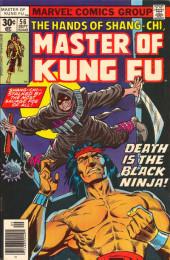 Master of Kung Fu Vol. 1 (Marvel - 1974) -56- Death is the Black Ninja!