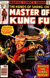 Master of Kung Fu Vol. 1 (Marvel - 1974) -58- Behold the Final Mask!