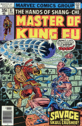 Master of Kung Fu Vol. 1 (Marvel - 1974) -61- Savage Is the Skull Crusher!