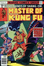 Master of Kung Fu Vol. 1 (Marvel - 1974) -63- Doom Wears Three Faces!