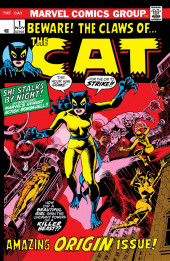 Cat (The) (Marvel - 1972) -1- Beware the Claws of the Cat