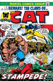 Cat (The) (Marvel - 1972) -4- Stampede!