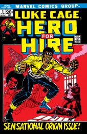 Luke Cage, Hero for Hire (Marvel - 1972) -1- Sensational Origin Issue!