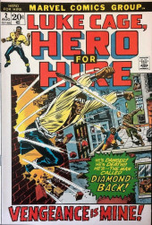 Luke Cage, Hero for Hire (Marvel - 1972) -2- He's Danger! He's Death!! He's -- The Man Called Diamondback!