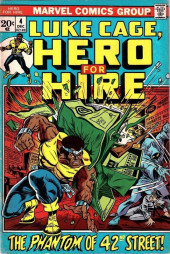 Couverture de Luke Cage, Hero for Hire (Marvel - 1972) -4- The Phantom of 42nd Street!