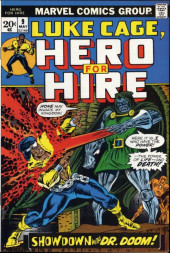Luke Cage, Hero for Hire (Marvel - 1972) -9- Showdown With Dr. Doom!