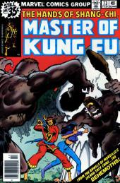 Master of Kung Fu Vol. 1 (Marvel - 1974) -73- The Behemoths!