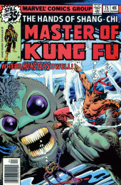 Master of Kung Fu Vol. 1 (Marvel - 1974) -75- Where Monsters Dwell!