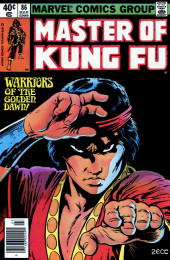 Master of Kung Fu Vol. 1 (Marvel - 1974) -86- Warriors of the Golden Dawn!