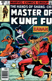 Master of Kung Fu Vol. 1 (Marvel - 1974) -87- The Deadly Return of Zaran the Weapons Master!