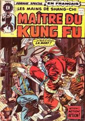 Les mains de Shang-Chi, maître du Kung-Fu (Éditions Héritage) -6- L'arme de l'esprit