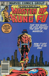Master of Kung Fu Vol. 1 (Marvel - 1974) -125- For Ten Years He Has Walked the Way of the Warrior... Now It Has Come to an End.