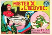 E.L.A.N. (Collection) (2e série) -50- Mister X à l'œuvre