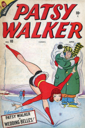 Patsy Walker (Timely/Atlas - 1945) -10- Wedding Belles!