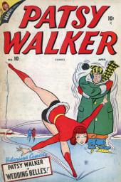 Patsy Walker (Timely - 1945) -10- Wedding Belles!