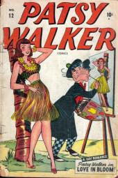 Patsy Walker (Timely - 1945) -12- Love in Bloom!