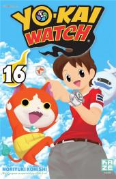 Yo-Kai watch -16- Tome 16