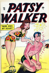Patsy Walker (Timely - 1945) -13- There Goes My Heart!