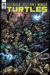 Teenage Mutant Ninja Turtles (2011) -80B- Invasion of the triceratons, part. 5