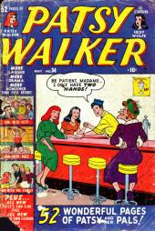 Patsy Walker (Timely - 1945) -34- (sans titre)